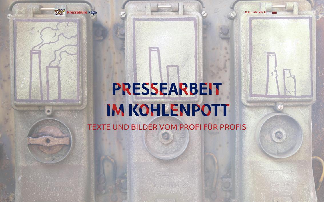 Screenshot–Pressebüro–Päge